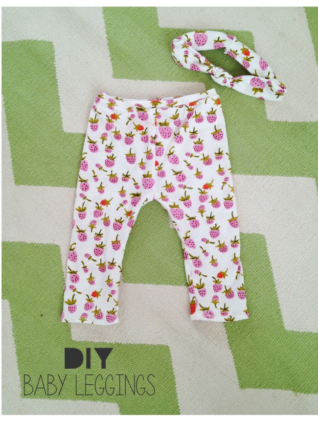 Baby Leggings Sewing Tutorial