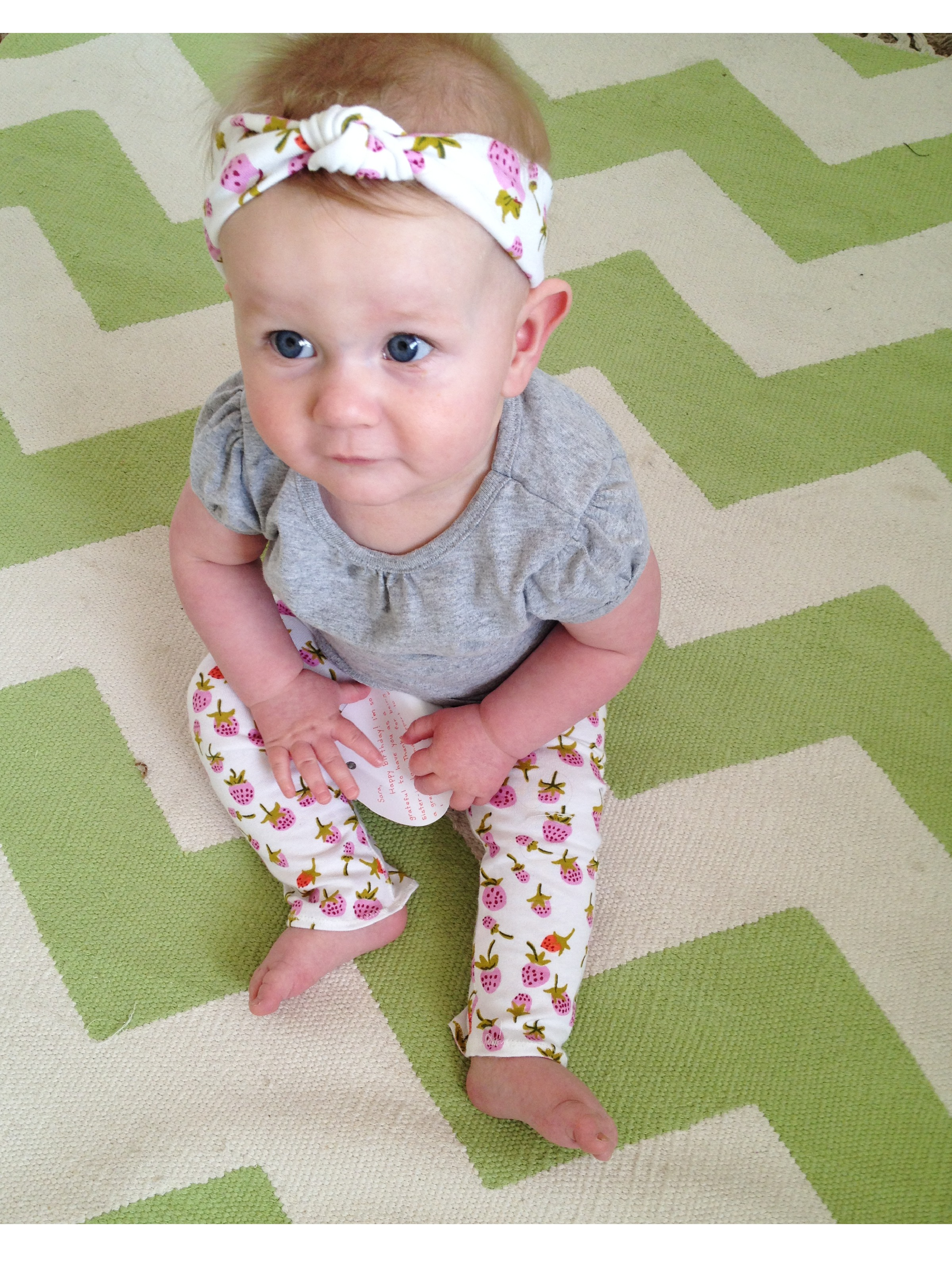 Knotted Baby Turban Tutorial The Sara Project Headband Image