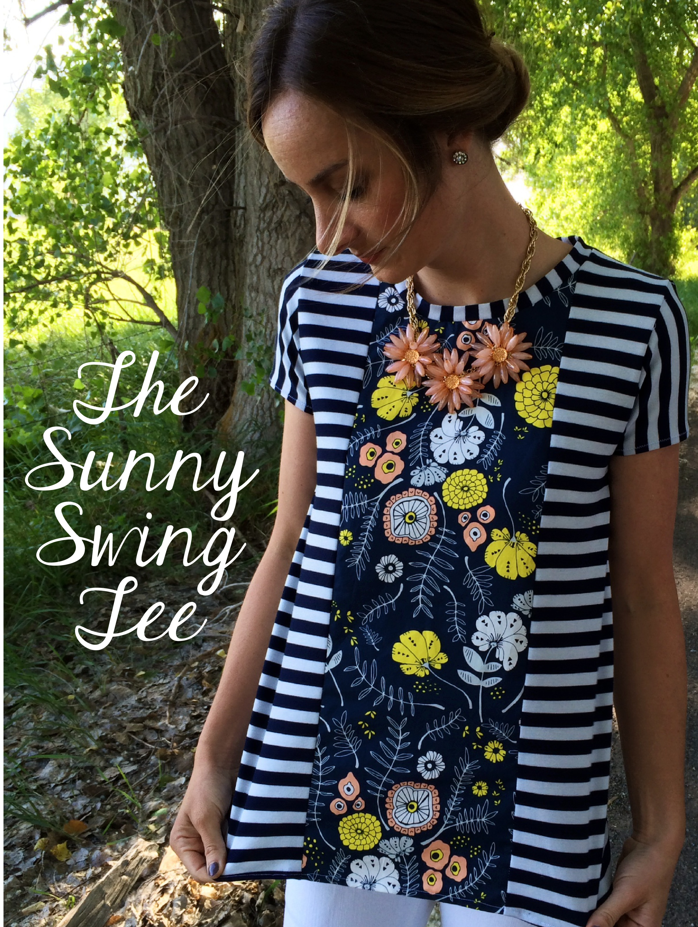 34a22508d802 The Sunny Swing Tee Sewing Tutorial + Free Pattern