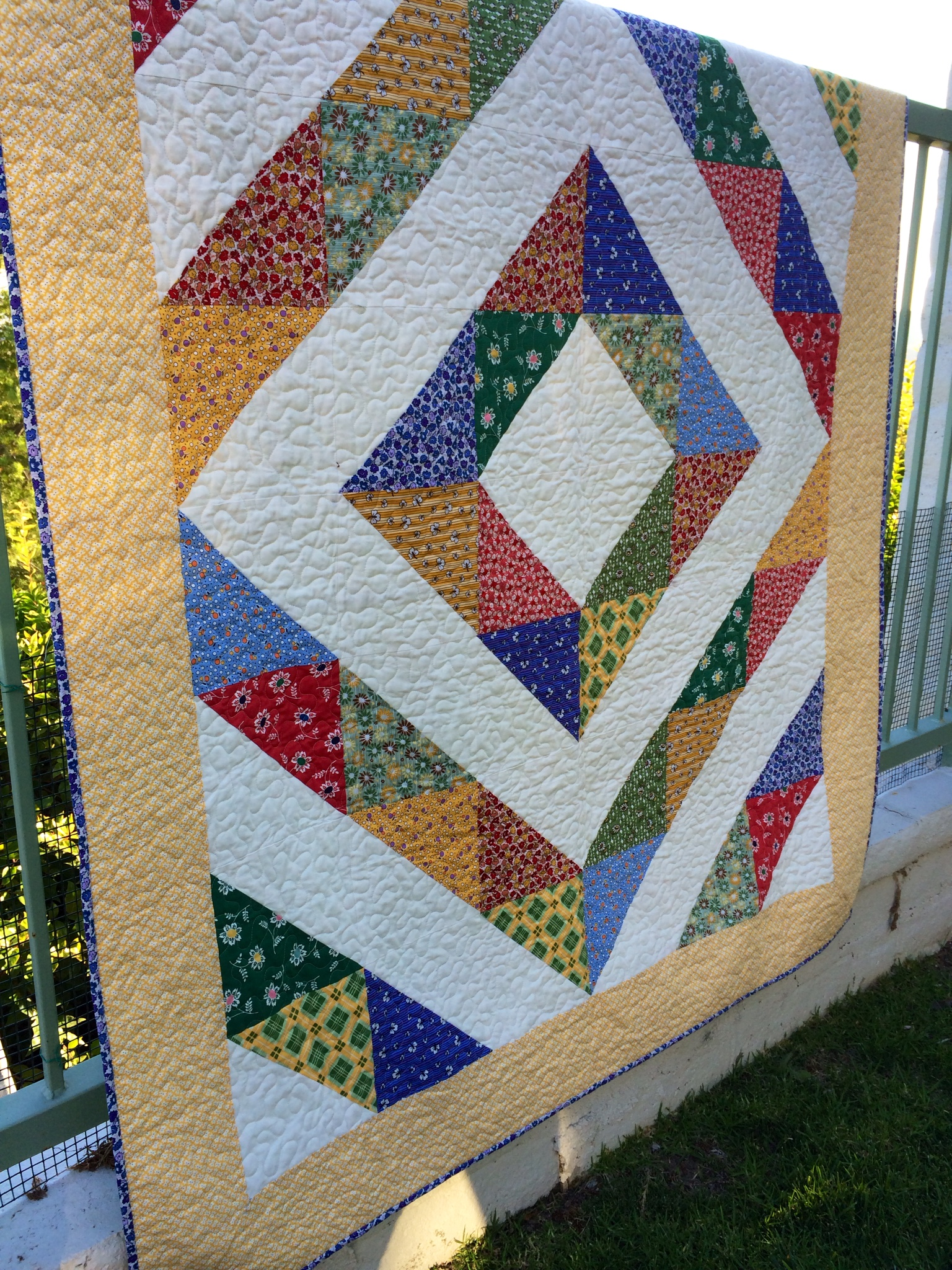 Diamond A Quilt Pattern The Sara Project