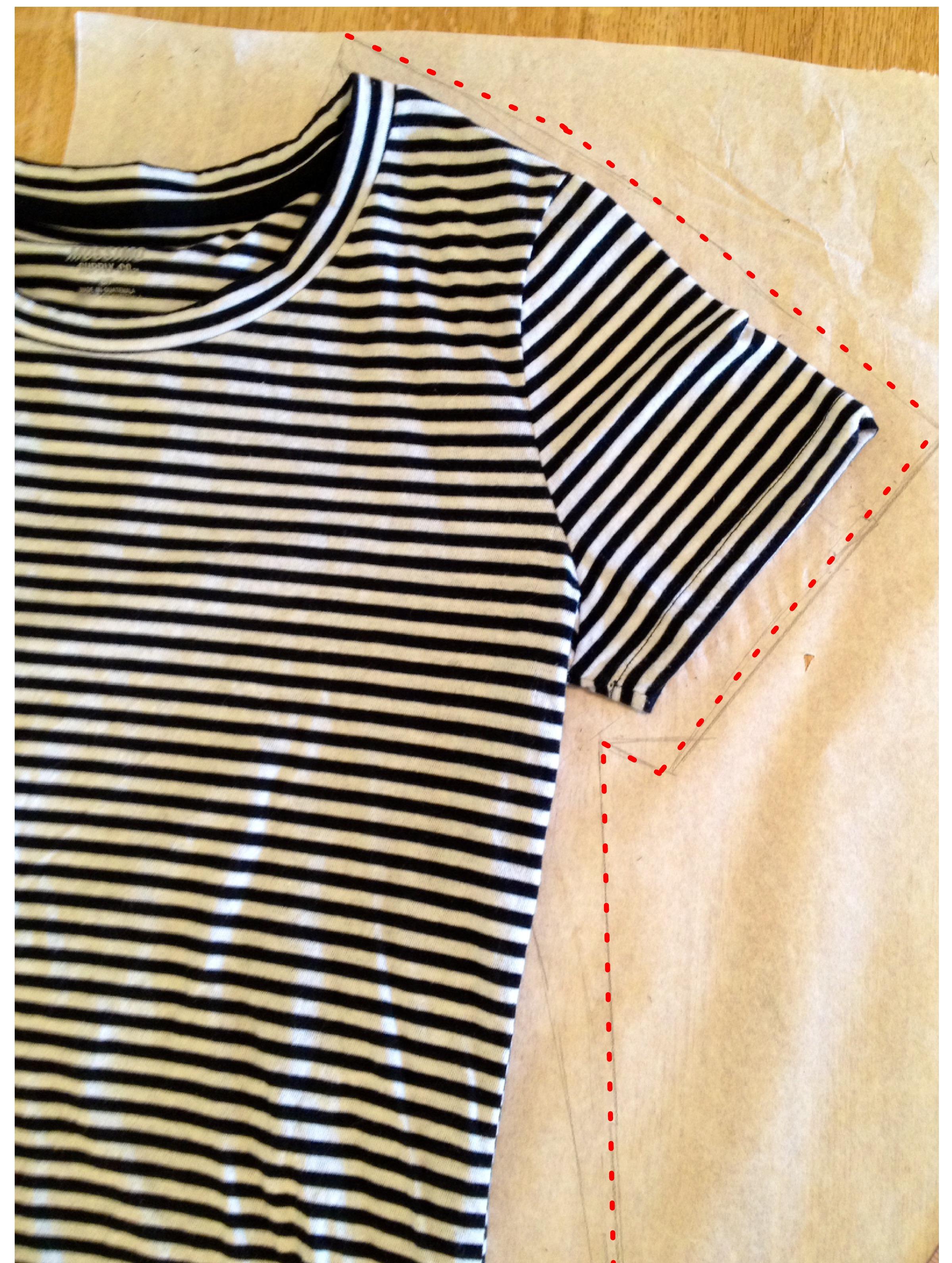 Knit Raglan Sleeve T-Shirt Dress Sewing Tutorial The Sara Project