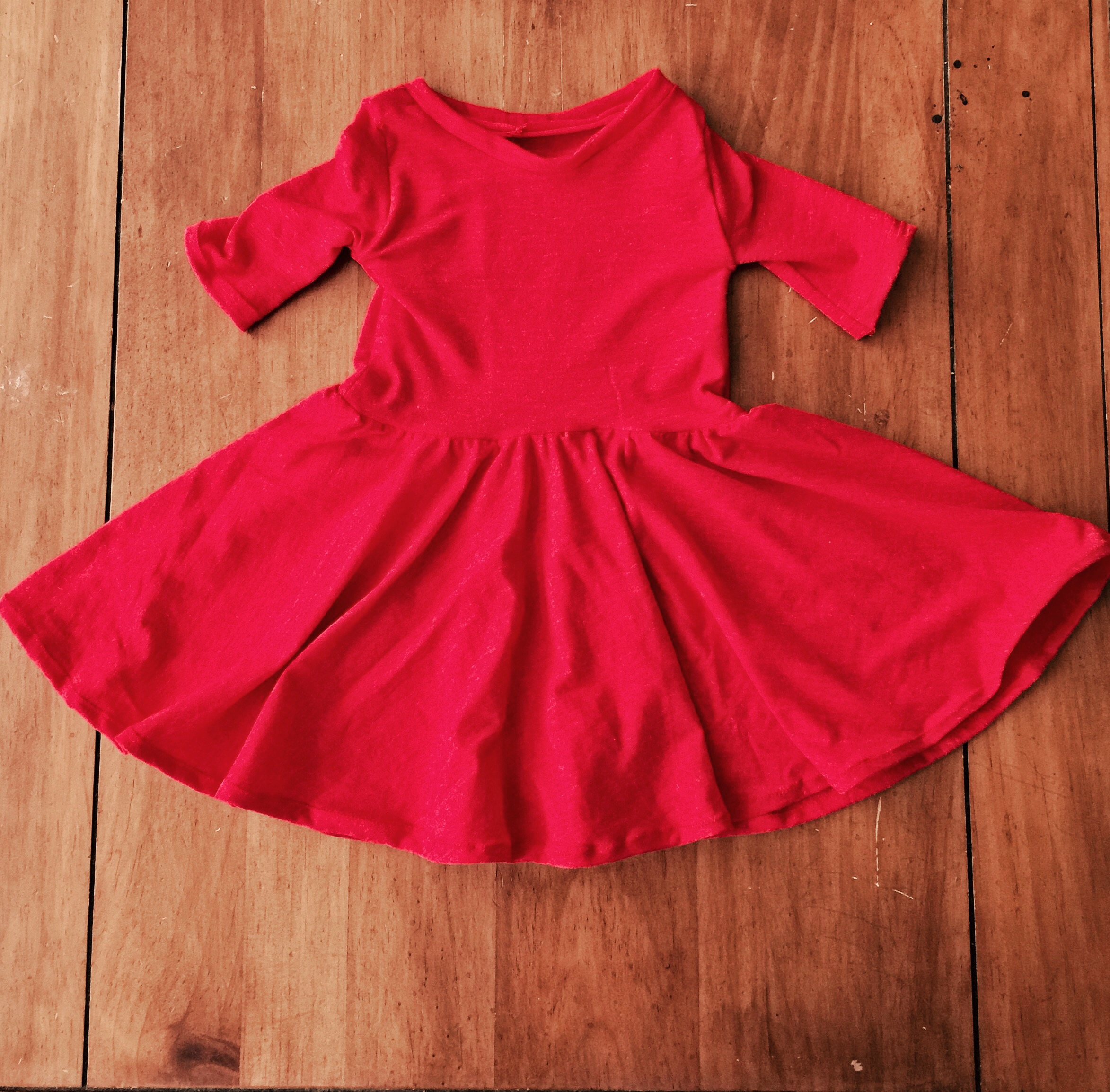 Toddler Twirly Dress Sewing Tutorial | The Sara Project