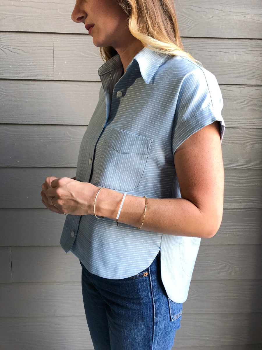 Kalle Shirt + Measure Fabric