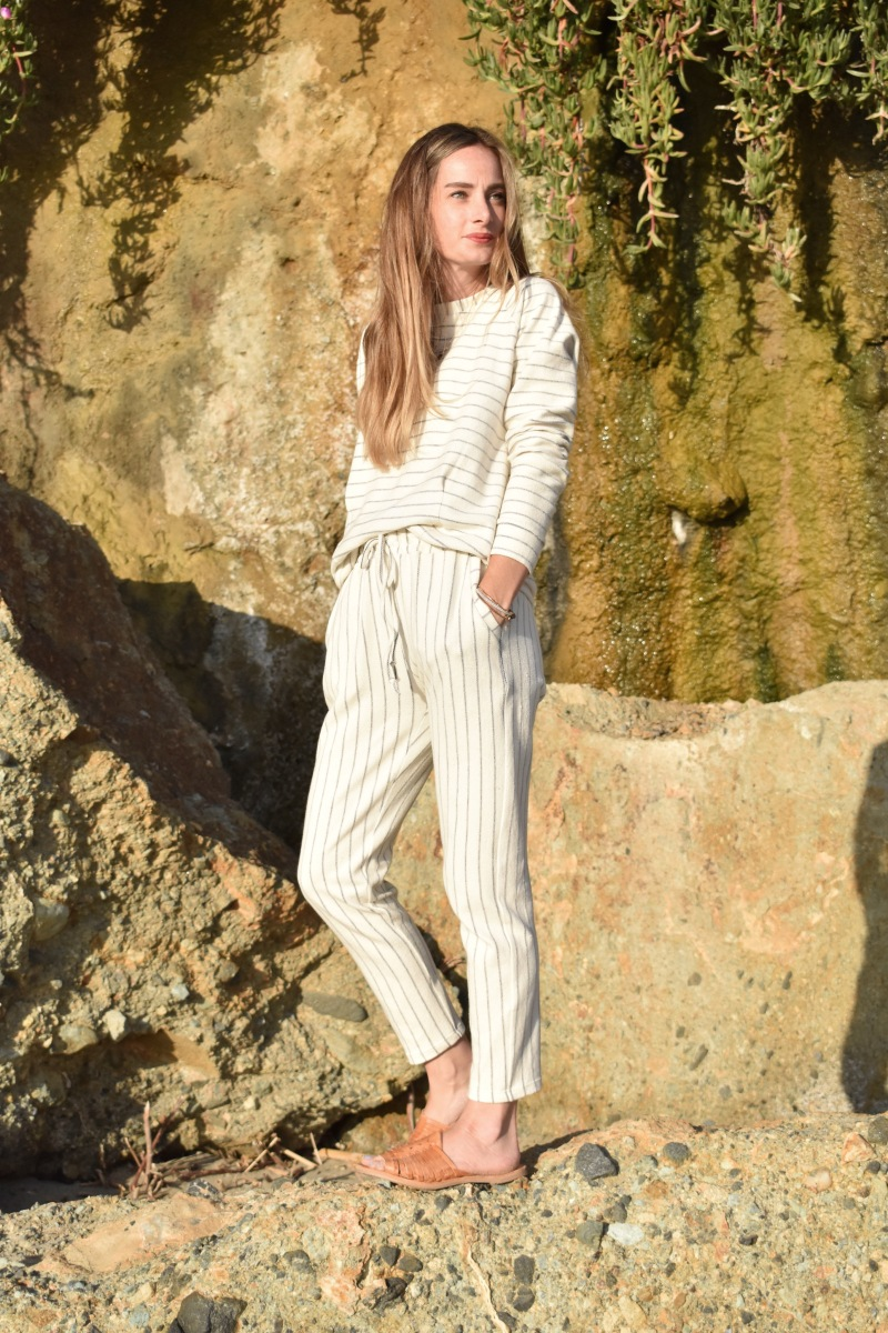 Coastal Inspired French Terry Sweatsuit With JOANN